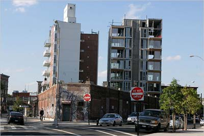 Williamsburg: Buildings Popping Up like Mushrooms