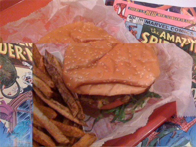 Comic Burger: 513 Grand Street Brooklyn, NY 11211