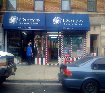 Dory's Hair Salon on Keap Street