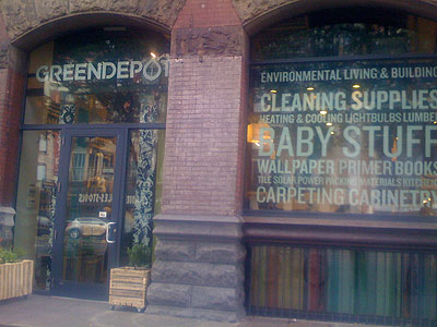 Greendepot, 222 Bowery NY NY 10012