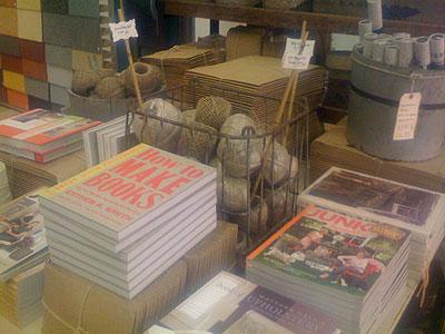 Greendepot, 222 Bowery NY NY 10012 - book selection