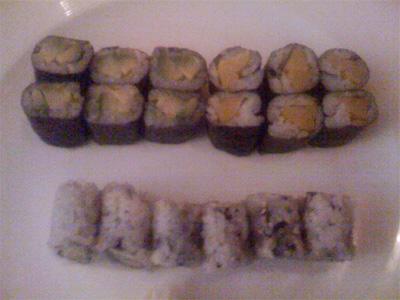 Mizo Sushi and Japanese Cuisine: Veggie Sushi Plate