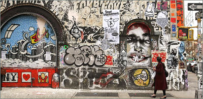 Last Hurrah for Street Art in Soho